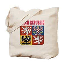 Czech Republic Coat Of Arms Designs Tote Bag