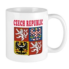 Czech Republic Coat Of Arms Designs Small Mug