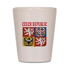 Czech Republic Coat Of Arms Designs Shot Glass
