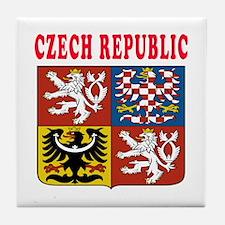Czech Republic Coat Of Arms Designs Tile Coaster