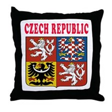 Czech Republic Coat Of Arms Designs Throw Pillow