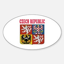 Czech Republic Coat Of Arms Designs Decal