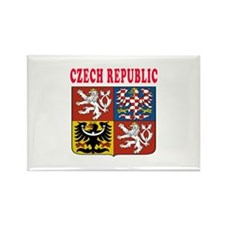 Czech Republic Coat Of Arms Designs Rectangle Magn