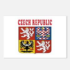 Czech Republic Coat Of Arms Designs Postcards (Pac