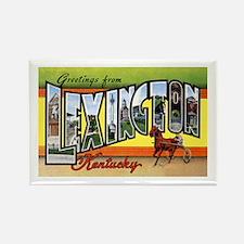 Lexington Kentucky Greetings Rectangle Magnet