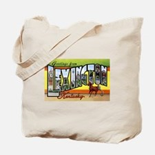 Lexington Kentucky Greetings Tote Bag