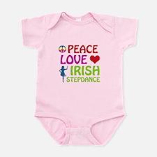 Peace Love Irish Stepdance Infant Bodysuit