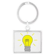 Light Bulb Idea Keychains