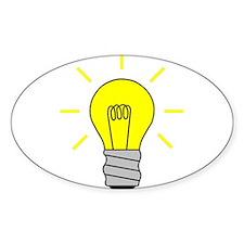 Light Bulb Idea Decal