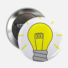 """Light Bulb Idea 2.25"""" Button (100 pack)"""