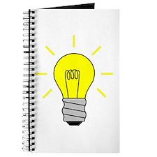 Light Bulb Idea Journal