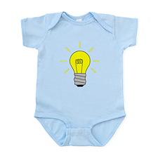 Light Bulb Idea Body Suit