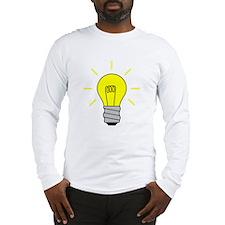 Light Bulb Idea Long Sleeve T-Shirt
