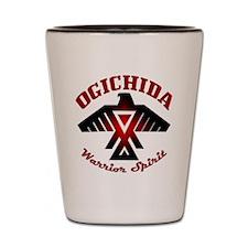 Ogichida Thunderbird Shot Glass