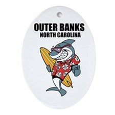 Outer Banks, North Carolina Ornament (Oval)