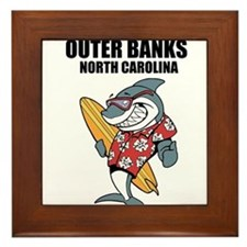 Outer Banks, North Carolina Framed Tile