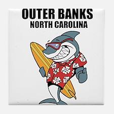 Outer Banks, North Carolina Tile Coaster