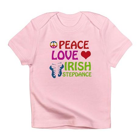 Peace Love Irish Stepdance Infant T-Shirt