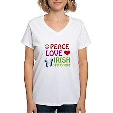 Peace Love Irish Stepdance Shirt