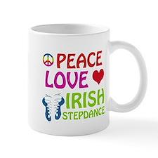 Peace Love Irish Stepdance Mug