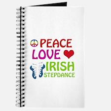 Peace Love Irish Stepdance Journal