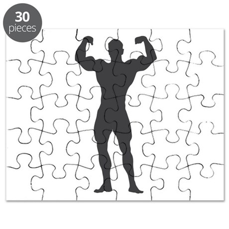 Bodybuilder Bodybuilding Puzzle