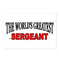 """The World's Greatest Sergeant"" Postcards (Package"