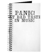 Panic! at bad taste Journal