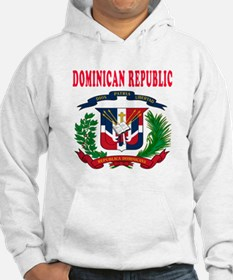 Dominican Republic Coat Of Arms Designs Hoodie