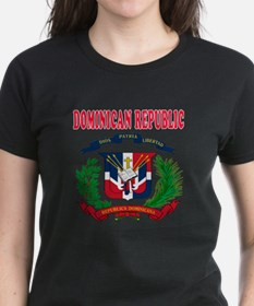 Dominican Republic Coat Of Arms Designs Tee