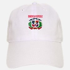 Dominican Republic Coat Of Arms Designs Baseball Baseball Cap