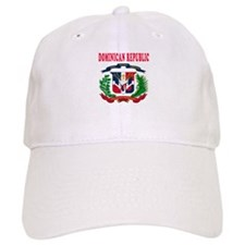 Dominican Republic Coat Of Arms Designs Baseball Cap