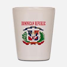 Dominican Republic Coat Of Arms Designs Shot Glass