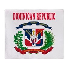 Dominican Republic Coat Of Arms Designs Throw Blan