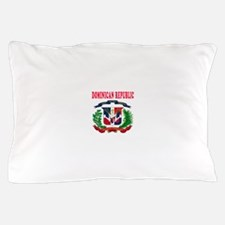 Dominican Republic Coat Of Arms Designs Pillow Cas