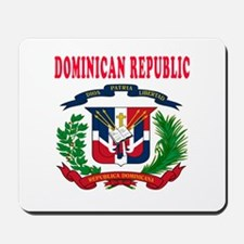 Dominican Republic Coat Of Arms Designs Mousepad