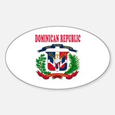 Dominican Republic Coat Of Arms Designs Decal