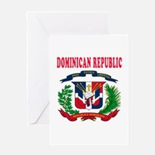 Dominican Republic Coat Of Arms Designs Greeting C