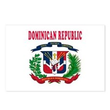 Dominican Republic Coat Of Arms Designs Postcards