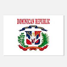 Dominican Republic Coat Of Arms Designs Postcards