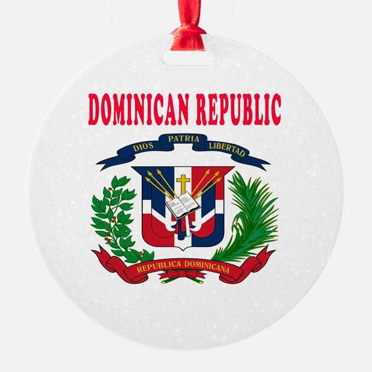 Dominican Republic Coat Of Arms Designs Ornament