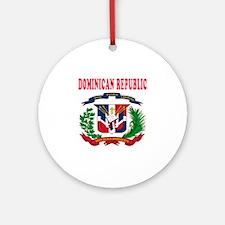 Dominican Republic Coat Of Arms Designs Ornament (