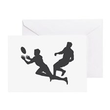 Rugby Football Greeting Card