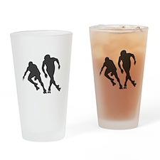Speed RollerSkating Drinking Glass