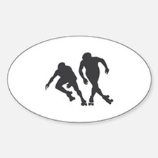 Speed RollerSkating Decal