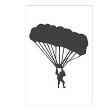 Skydiving Parachuting Postcards (Package of 8)