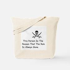 Unique Pirate Tote Bag