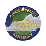 Kentucky Corrections Ornament (Round)
