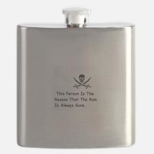 Unique Pirate Flask