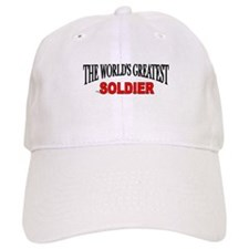 """""""The World's Greatest Soldier"""" Baseball Cap"""